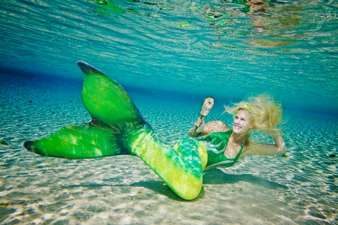 One of Andrew's many gorgeous shots of Bambi the Mermaid