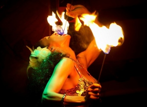 MeduSirena, the Fire-Eating Mermaid