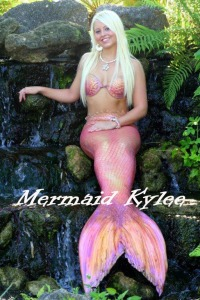 Weeki Wachee Mermaid and Pageant Queen Kylee Troche