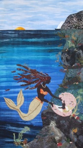 Mermaids and Merwomen in Black Folklore: A Fiber Arts Exhibition in Charleston, SC