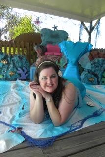 me as mermaid
