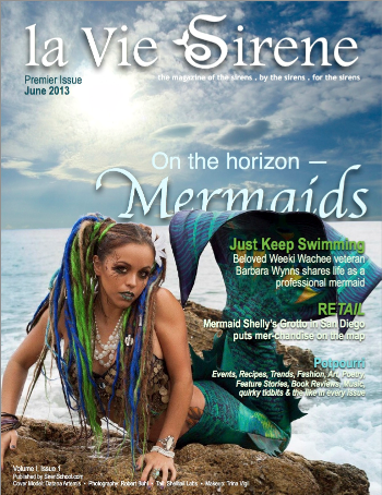 from Joy de Vivre June Mermaid issue cover la Vie Sirene2