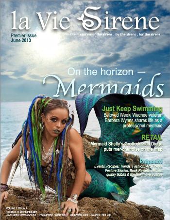 from Joy de Vivre June Mermaid issue cover la Vie Sirene2
