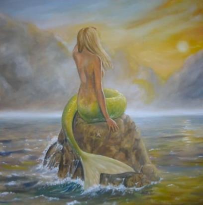 """Joy's alter ego: """"mermaid's perch"""" by dashinvaine on deviantart"""