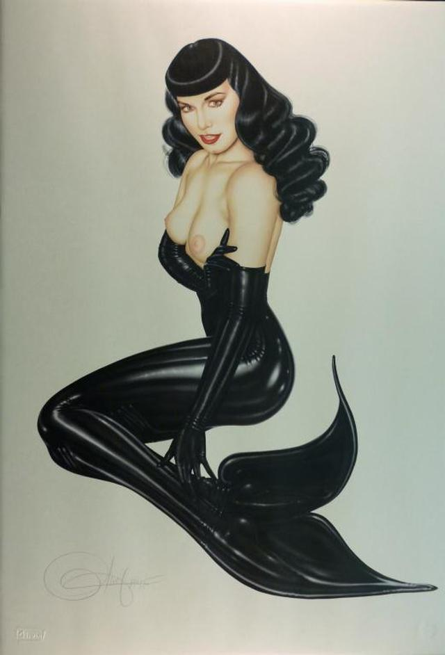 Olivia De Berardinis' Sexy Pin-Up Mermaids | I am a mermaid